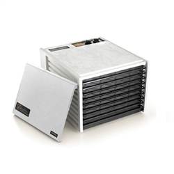 #3926TW Excalibur Dehydrator WITH BUILT IN 26 HOUR TIMER - 9 Tray Large White- Free Shipping in Canada+FREE Dehydration Guide+10 Year Warranty
