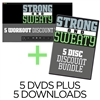 DVD 6 Pack Bundle + Downloads