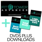 Fit Tower DVDs and Downloads Workout Bundle