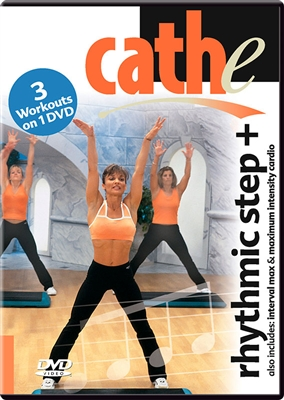 cathe Rhythmic Step + Interval Max +Maximum Intensity workout DVD