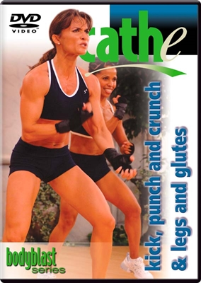 Cathe Body Blast Series: Kick, Punch and Crunch + Legs workout DVD