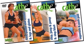 Cathe Body Blast Series Discount Bundle -  All 3 workout DVDs