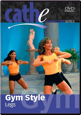 cathe Gym Style Legs workout DVD