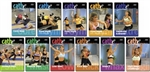 cathe Hardcore Extreme + All 10 Hardcore workout DVDs