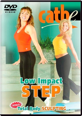Cathe Friedrich's Low Impact Step and  Total Body Sculpting workout video exercise dvd