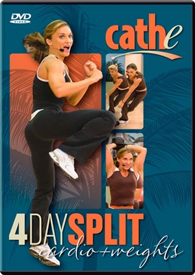 cathe 4 Day Split Series DVD