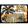 12x18 Aluminum sign that says Board Meeting. This quality and sturdy metal poster sign is brand new, durable and made of heavy gauge aluminum that will last for many years to come. Great for hanging outside as well as inside. A great way to add some...
