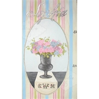 Petite Bouquet Hand Painted Growth Chart