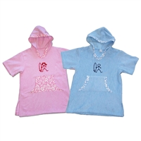 The Surfer Baby Hooded Poncho Changing Towel is great for drying off at the beach or the pool and then keeping warm out of the water. Works great as a cover-up and has handy pockets. Made of 100% cotton terry, it is super absorbent and comfy....