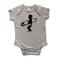 Diaper Pin Surfer One Piece Bodysuit