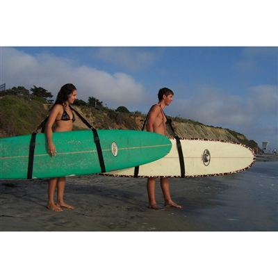 The Original Stick Schlepper Surfboard and Longboard Carrier Strap. This longboard carrier is now available with a belt pack / fanny pack just like our SUP carriers. Please choose with or without fanny pack in the drop down.  The...