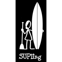 SUPling Sticker (girl)