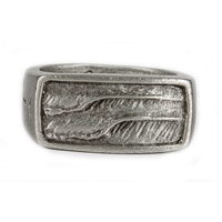Strickly Boarding Pewter Mens Boat Trip Ring