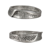 This insane flower wave ring is made from lead-free pewter with a screaming barrel.  100% Handcarved Lead/Nickel Free Pewter Made in Carlsbad, California USA The Undisputed Leader in Custom Surf Jewelry!As surfers, the need to...