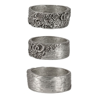 Reef Mens Pewter Surf Ring by Strickly Boarding