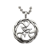 Rhythm Sterling Silver Surf Pendant by Strickly Boarding