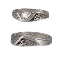 Wet Dreams Mens Pewter Surf Ring by Strickly Boarding