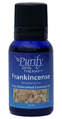 100% Pure Wildcrafted Frankincense Essential Oil by Purify Skin Therapy