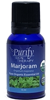 100% Pure Premium Grade, USDA Certified Organic Marjoram Essential Oil by Purify Skin Therapy