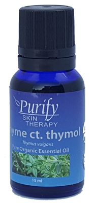 100% Pure Premium Grade, USDA Certified Organic Thyme ct. thymol Essential Oil by Purify Skin Therapy