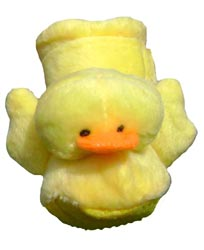 Dog Slippers Yellow Duckie