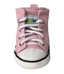 Dog Sneakers Pink Canvas