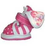 Small Dog Sneakers Pink