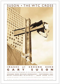 16 in. x 22 in. Poster <br> The World Trade Center Cross