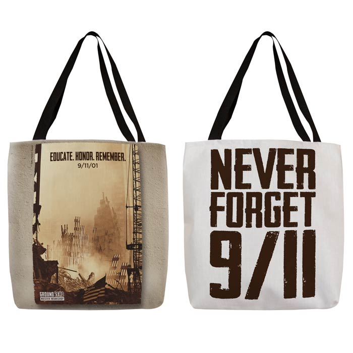 """Sunset at Ground Zero"" Tote"