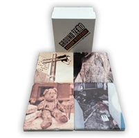 4-Piece Marble Museum Variety Coaster Set