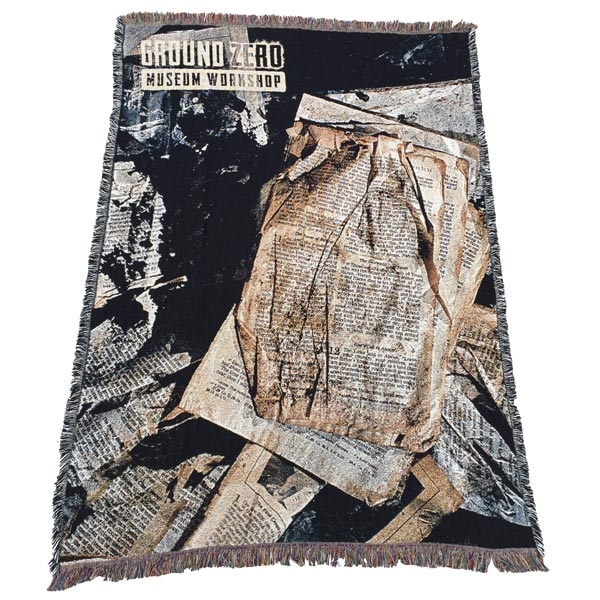 The World Trade Center Bible Page Woven Throw