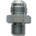 6 JIC to 14MM x 1.5 STRAIGHT ADAPTER, STEEL - OIL INLET - TURBO OIL FITTING