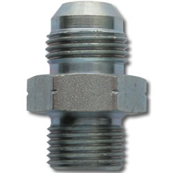 6 JIC to 16MM x 1.5 STRAIGHT ADAPTER, STEEL - OIL INLET - TURBO OIL FITTING