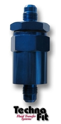 #4 Fuel Filter - Blue Aluminum