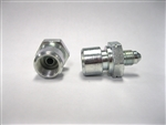 FEMALE BRAKE ADAPTER -3 MALE TO FEMALE 12MM X 1.00 INVERTED - STEEL