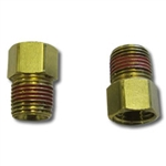 WILWOOD CALIPHER ADAPTER - 1/8 NPT MALE TO 3/8-24 INVERTED FEMALE