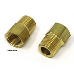 WILWOOD CALIPHER ADAPTER - 1/8 NPT MALE TO 10MM X 1.0 INVERTED FEMALE