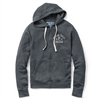League TFC Vineyard Zip Front Weathered Navy Hoodie
