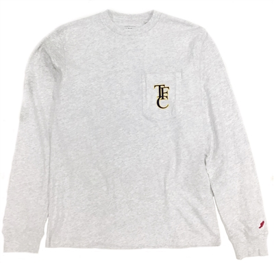 League Vintage Wash TFC Longsleeve Pocket Tee