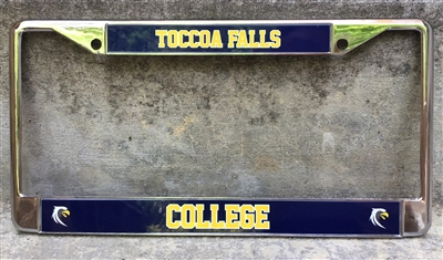 Toccoa Falls College License Plate Frame