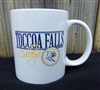 Toccoa Falls College White Ceramic Mug