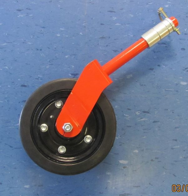 Complete Finishing Grooming Mower Wheel Assembly 8