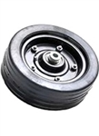 Solid Finishing Mower Tire with Grease Fitting