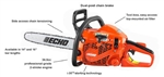"Echo CS-352 Chainsaw 34cc 5 Year Warranty 16"" Bar"