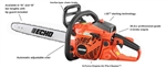 "Echo CS-400 Chainsaw 18"" Bar With Case 40.2cc 5 Year Warranty"