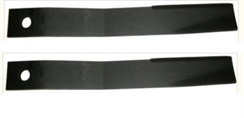 Pair of 6ft Rotary Cutter Blades for King Kutter