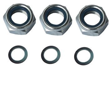 Nut / Washer Kit for Finishing Mowers