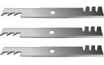"Set of (3) Exmark Commercial 20-1/2"" Mulcher Blades"