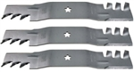 "SET OF (3) 18 1/2"" COMMERCIAL MULCHING BLADE"