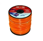 (1) ROLL OF .095 X 755' PROFESSIONAL DIAMOND CUT TRIMMER LINE*MADE IN USA* 12150